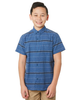 MYSTIC NAVY KIDS BOYS HURLEY TOPS - CI7371408