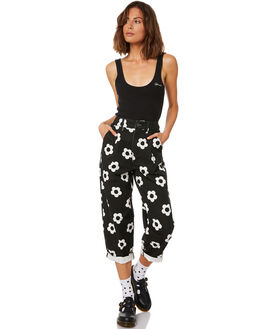 BLACK WOMENS CLOTHING AFENDS JEANS - W191451BLK