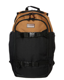 BLACK TAN MENS ACCESSORIES RIP CURL BAGS + BACKPACKS - BBPXW15140