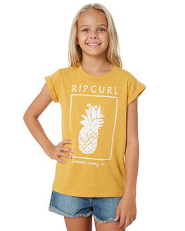 MUSTARD KIDS GIRLS RIP CURL TOPS - JTEED11041