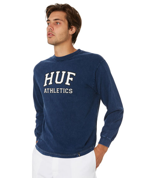 INSIGNIA BLUE OUTLET MENS HUF TEES - TS00561-IABLU