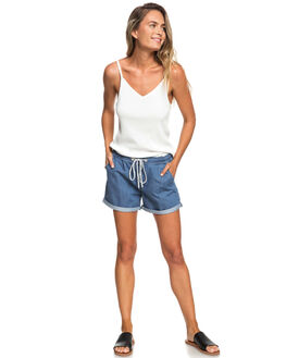 MARSHMALLOW WOMENS CLOTHING ROXY SINGLETS - ERJKT03482WBT0