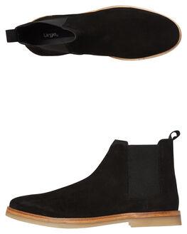 BLACK MENS FOOTWEAR URGE BOOTS - URG17132-_BLK