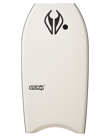 WHITE RED BOARDSPORTS SURF NMD BODYBOARDS BODYBOARDS - NMDSTORMWHIRD