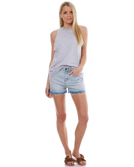 WHITE WASH WOMENS CLOTHING THE HIDDEN WAY SHORTS - H8174232WHW