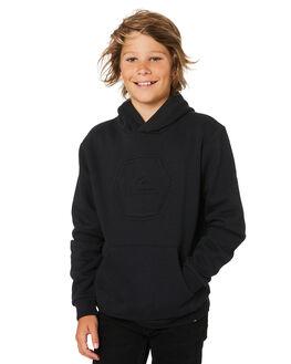 BLACK KIDS BOYS QUIKSILVER JUMPERS + JACKETS - EQBFT03460KVJ0