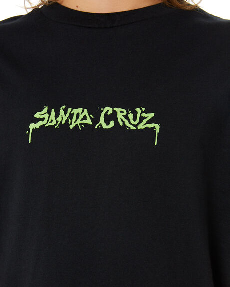 BLACK KIDS BOYS SANTA CRUZ TOPS - SC-YTA0335BLK