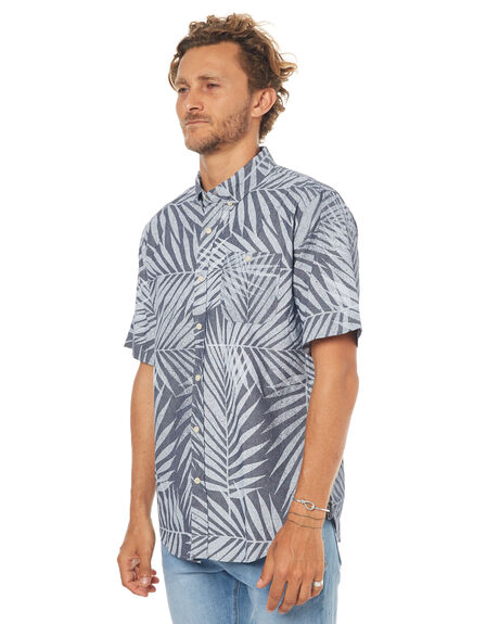 BLUE MENS CLOTHING EZEKIEL SHIRTS - ES173056BLUE
