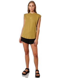 DARK PISTACHIO WOMENS CLOTHING C&M CAMILLA AND MARC SINGLETS - VCMT6992PIST