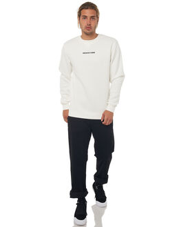 SNOW WHITE MENS CLOTHING DC SHOES JUMPERS - EDYFT03347WBB0