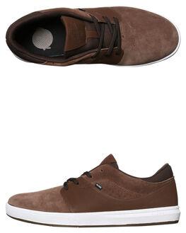 CHOCOLATE MENS FOOTWEAR GLOBE SKATE SHOES - GBMAHALOSG17280