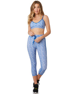 BLUE WHITE WOMENS CLOTHING THE UPSIDE ACTIVEWEAR - USW219009BLUWT