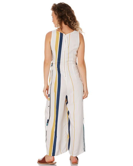 MARGOT STRIPE WOMENS CLOTHING SANCIA PLAYSUITS + OVERALLS - 842A_MARG