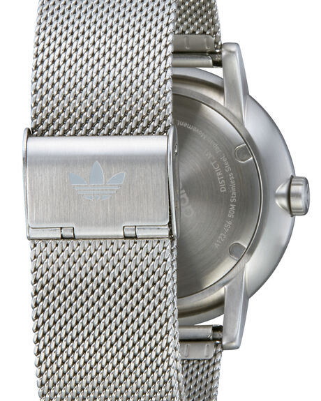 ALL SILVER OUTLET MENS ADIDAS WATCHES - Z04-1920-00SIL
