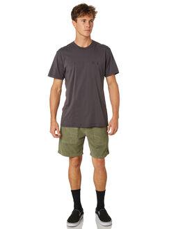 MERCH BLACK MENS CLOTHING THRILLS TEES - TR8-106MBMRBLK