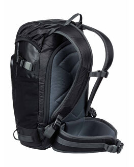 BLACK MENS ACCESSORIES QUIKSILVER BAGS + BACKPACKS - EQYBP03532-KVJ0