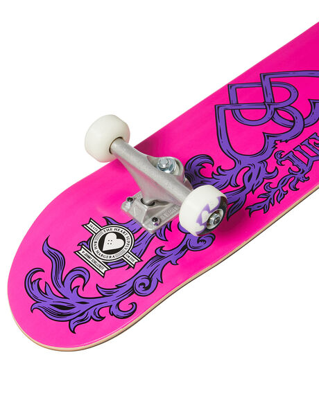 PINK PURPLE BOARDSPORTS SKATE THE HEART SUPPLY COMPLETES - HS020107600C7750PKPR