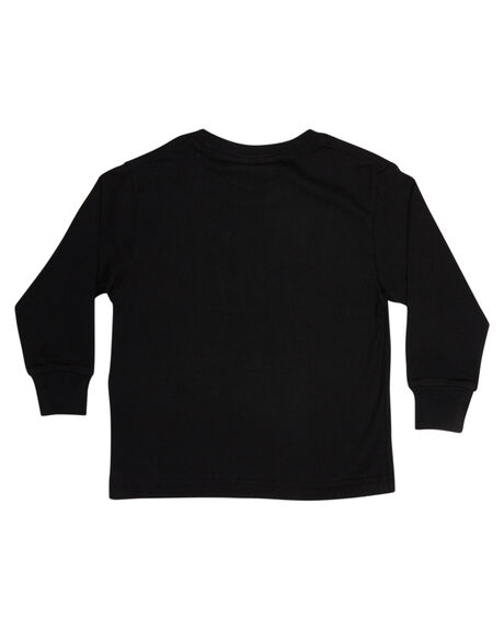 BLACK KIDS TODDLER BOYS RUSTY TEES - TTR0401BLK
