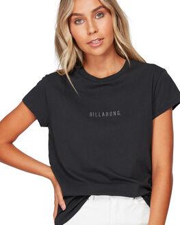 OFF BLACK WOMENS CLOTHING BILLABONG TEES - BB-6591132-OFB