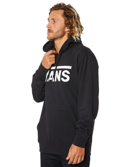 BLACK WHITE MENS CLOTHING VANS JUMPERS - VN0A456BY28BLKWH