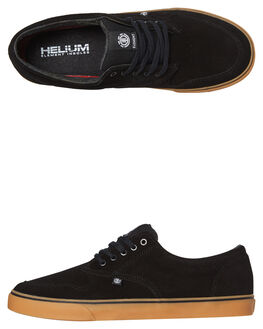 BLACK GUM MENS FOOTWEAR ELEMENT SNEAKERS - 183902BLKGU