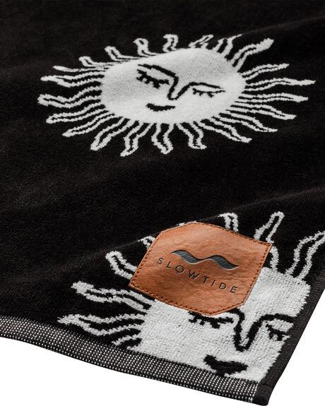 BLACK MENS ACCESSORIES SLOWTIDE TOWELS - ST308BLK