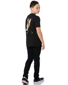 BLACK KIDS BOYS SWELL TOPS - S3193010BLACK