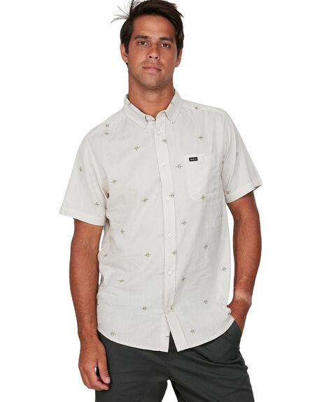 SILVER BLEAC MENS CLOTHING RVCA SHIRTS - RV-R305199-SVA