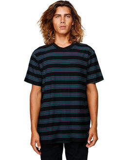 BLACK MENS CLOTHING BILLABONG TEES - BB-9592144-BLK