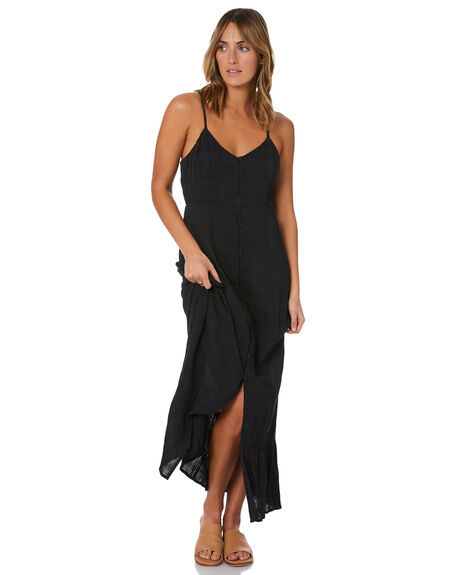 BLACK WOMENS CLOTHING VOLCOM DRESSES - B1322106BLK