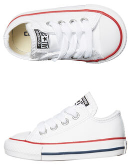 WHITE KIDS TODDLER BOYS CONVERSE FOOTWEAR - 735892WHI