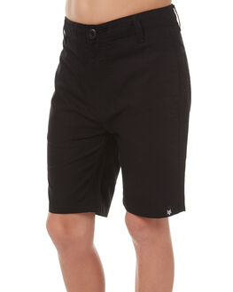 BLACK KIDS BOYS ZOO YORK SHORTS - ZY-YWC7140BLK