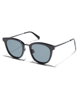 BLACK GLOSS MENS ACCESSORIES OSCAR AND FRANK SUNGLASSES - 031BLBLKG