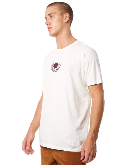WHITE MENS CLOTHING KATIN TEES - TSROS01WHT