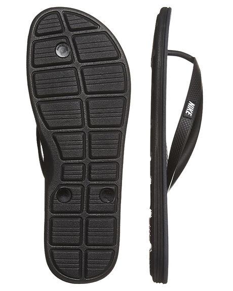 BLACK WHITE ANTHRAC MENS FOOTWEAR NIKE THONGS - SS488160-011M
