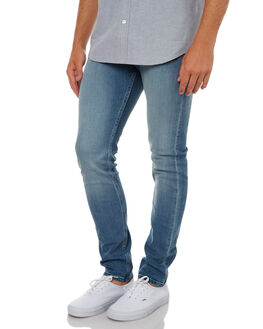 STRONG BLUE MENS CLOTHING CHEAP MONDAY JEANS - 0395372STGBL