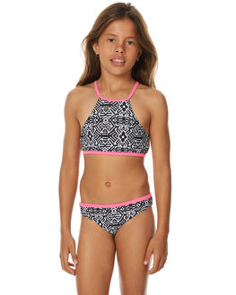 BLACK KIDS GIRLS RIP CURL SWIMWEAR - JSICE10090