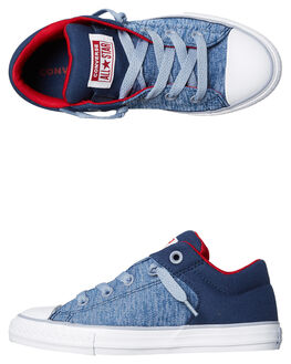 NAVY GLACIER KIDS BOYS CONVERSE SNEAKERS - 660721NVY