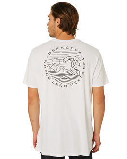 WHITE MENS CLOTHING DEPACTUS TEES - D5182004WHITE