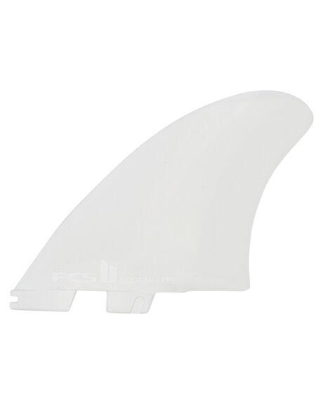 WHITE BOARDSPORTS SURF FCS FINS - FMKX-PC01-XL-SS-RWHI