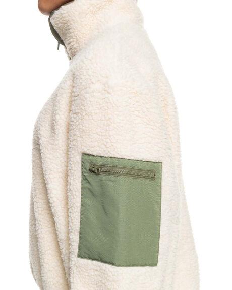 TAPIOCA WOMENS CLOTHING ROXY HOODIES + SWEATS - ERJPF03080-TEH0