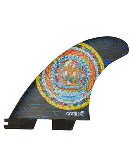 MONKEY KING SURF HARDWARE GORILLA FINS - GMKM-MD-TS-RMONK