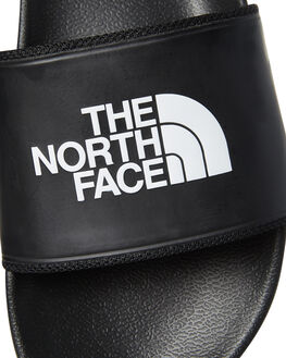 BLACK MENS FOOTWEAR THE NORTH FACE SLIDES - NF0A3FWOKY4