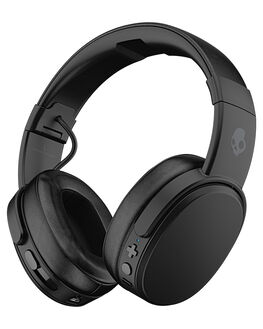 BLACK CORAL MENS ACCESSORIES SKULLCANDY AUDIO + CAMERAS - S6CRW-K591BLK