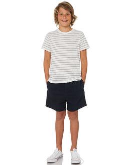 NAVY KIDS BOYS ACADEMY BRAND BOARDSHORTS - B19S602NVY