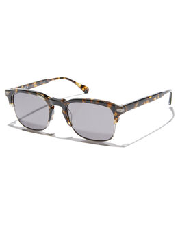 BRINDLE TORTOISE MENS ACCESSORIES RAEN SUNGLASSES - 100W181MWI-S328-53