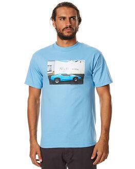 CAROLINA BLUE MENS CLOTHING PASS PORT TEES - NFTRTEECBLU