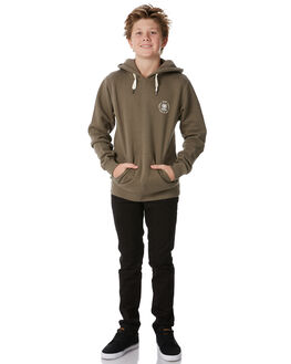 WASHED OLIVE KIDS BOYS SWELL JUMPERS - S3184450WSHOL