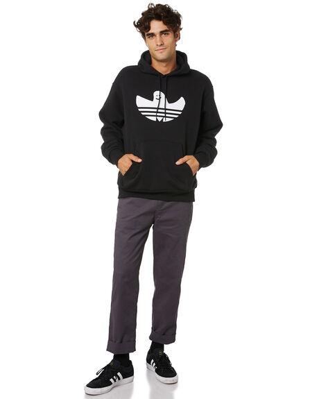 BLACK MENS CLOTHING ADIDAS JUMPERS - GJ0843BLK