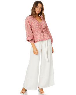 PINK WOMENS CLOTHING TIGERLILY FASHION TOPS - T305036PNK